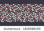 hand drawn abstract christmas... | Shutterstock .eps vector #1828588190