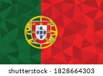 low poly portugal flag vector... | Shutterstock .eps vector #1828664303
