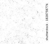 grunge black ink splats.dot... | Shutterstock .eps vector #1828758776