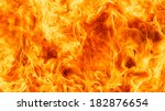 blaze fire flame texture... | Shutterstock . vector #182876654