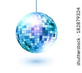 vector illustration of disco...   Shutterstock .eps vector #182879324