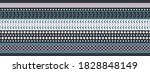 seamless vector border in... | Shutterstock .eps vector #1828848149