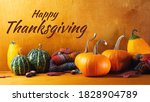 Happy Thanksgiving. Autumn...