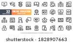 48x48 pixel perfect. online... | Shutterstock .eps vector #1828907663