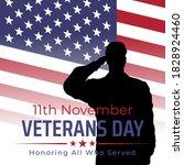 Happy Veterans Day Banner ...