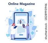 doctor online service or... | Shutterstock .eps vector #1828993946