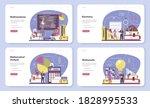 mathematician web banner or...   Shutterstock .eps vector #1828995533
