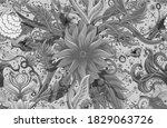 Coral Reef Flower Seamless...
