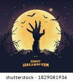 Happy Halloween Banner. A...