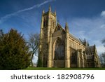 old english church in bolton ...