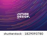futuristic linear background... | Shutterstock .eps vector #1829093780