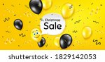 christmas sale. balloon...   Shutterstock .eps vector #1829142053