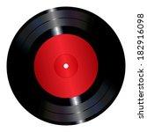 an illustration of a vinyl... | Shutterstock .eps vector #182916098