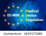 mdr   medical device regulation.... | Shutterstock .eps vector #1829172380