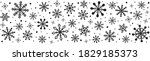 christmas header with hand...   Shutterstock .eps vector #1829185373