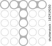 circles  font  modern style ...   Shutterstock .eps vector #182919050