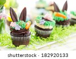 Easter Chocolate Cupcakes...