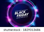black friday sale offer banner... | Shutterstock .eps vector #1829313686