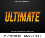 ultimate text effect template... | Shutterstock .eps vector #1829337653