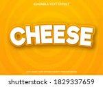 cheese text effect template...   Shutterstock .eps vector #1829337659