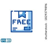 free delivery sign icon in...