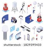 meteorology weather forecast... | Shutterstock .eps vector #1829395433