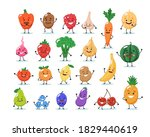 fruits and vegetables...   Shutterstock .eps vector #1829440619
