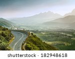 Beautiful Summer Mountain Road