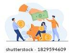 social support concept.... | Shutterstock .eps vector #1829594609