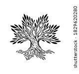 beautiful illustration of olive ...   Shutterstock .eps vector #1829620280