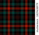 checkered plaid vector... | Shutterstock .eps vector #1829638979