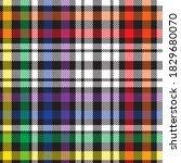 rainbow glen plaid textured... | Shutterstock .eps vector #1829680070
