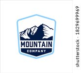 mountain with classic style... | Shutterstock .eps vector #1829699969