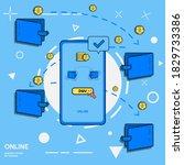 transaction illustration vector ...