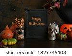 Halloween Blank Invitation With ...