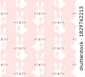 seamless pattern with cute...   Shutterstock .eps vector #1829762213