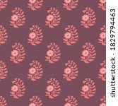 traditional floral vector... | Shutterstock .eps vector #1829794463