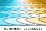 paper cut nature abstract river ... | Shutterstock .eps vector #1829802113