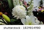 fresh flower bouquet. fresh... | Shutterstock . vector #1829814980