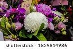 fresh flower bouquet. fresh... | Shutterstock . vector #1829814986