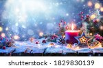 Abstract Advent Background  ...