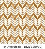 vector geometric seamless... | Shutterstock .eps vector #1829860910