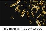 percent sings on dark...   Shutterstock .eps vector #1829919920
