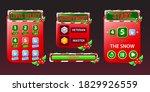 set of christmas game ui kit...