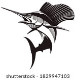 Sailfish Fishing Logo. Unique...