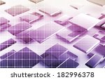 integrated management system in ... | Shutterstock . vector #182996378