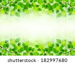 plant leaf background | Shutterstock .eps vector #182997680