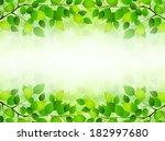 plant leaf background | Shutterstock .eps vector #182997680