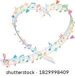 image illustration of heart...   Shutterstock .eps vector #1829998409