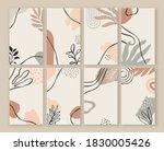 abstract nature art card...   Shutterstock .eps vector #1830005426